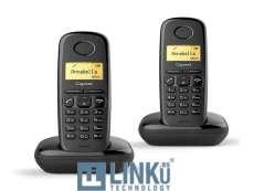 GIGASET TELEFONO A170 DUOS BLACK