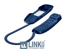 GIGASET TELEFONO FIJO COMPACTO DA210 AZUL