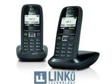 GIGASET TELEFONO DECT GIGASET AS405 DUO NEGRO