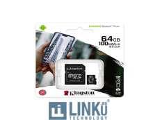 KINGSTON MICROSD 64 GB CL10 SDCS2/64GB 1A