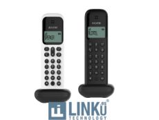 ALCATEL TELEFONO DEC D285 DUO NEGRO+ BLANCO/NEGRO