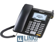 MAXCOM TELEFONO FIJO MM28D 2G SIM BLACK
