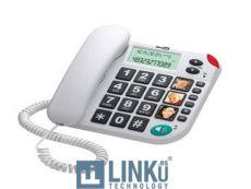 MAXCOM TELEFONO FIJO  KXT480  WHITE